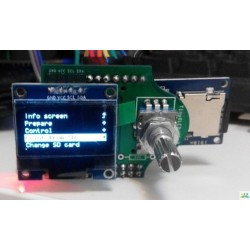 TinyOLED for RAMPS with TF Card Offline Printing