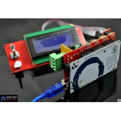 Mega 2560 + RAMPS 1.4 + 2004 LCD
